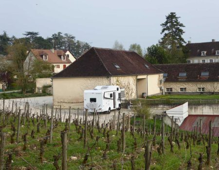 House Hunting in a motorhome or campervan in France