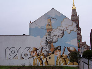 Mural-at-Albert-in-The-Somme