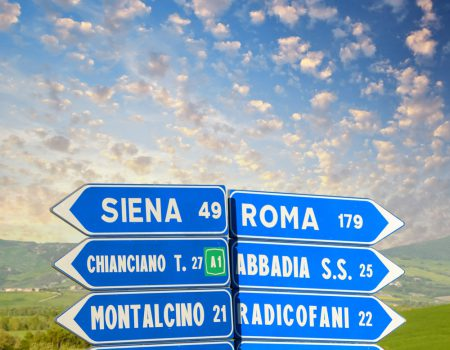 Italy's challenging roads!