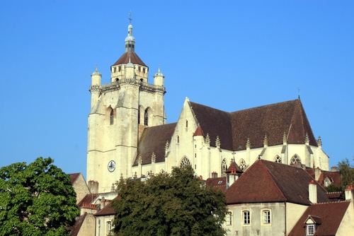 The Medieval City of Dole in the Jura region
