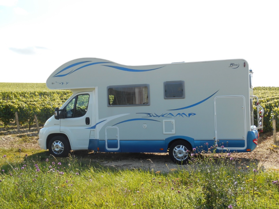 Campervan trips in France and Great Britain