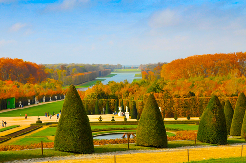 Autumn in Versailles