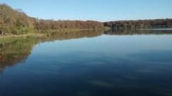 A lake-side walk in the Puisaye region