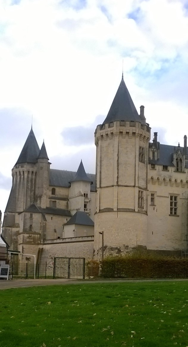 Saumur Castle in Maine-et-Loire: the location of the 4th stage of the Tour de France on 5 July.