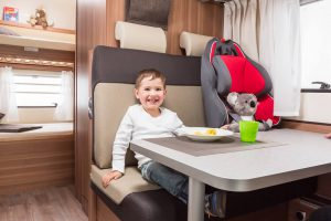 Euro-Voyager Prestige dinette and bunks