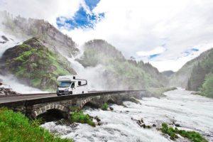 FMH luxury Prestige Range on the road
