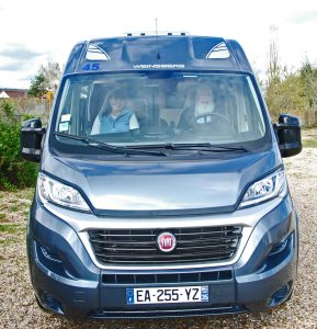First clients to head out in our new Prestige Eurotraveller Campervan
