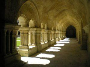 Fontenay Abbey cloister