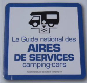Water services at an Aire de Services Camping-Cars