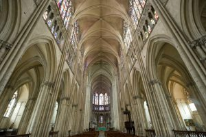 Inside Troyes Cathedral