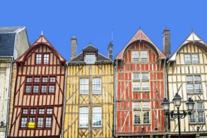 Troyes' beautiful beamed buildings