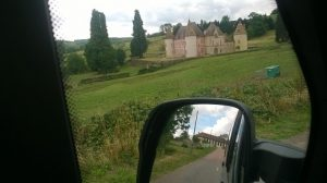 Unknown chateau spotted whilst driving in the Morvan national park2