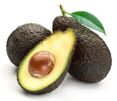 Perfectly ripe avocado for al fresco dining