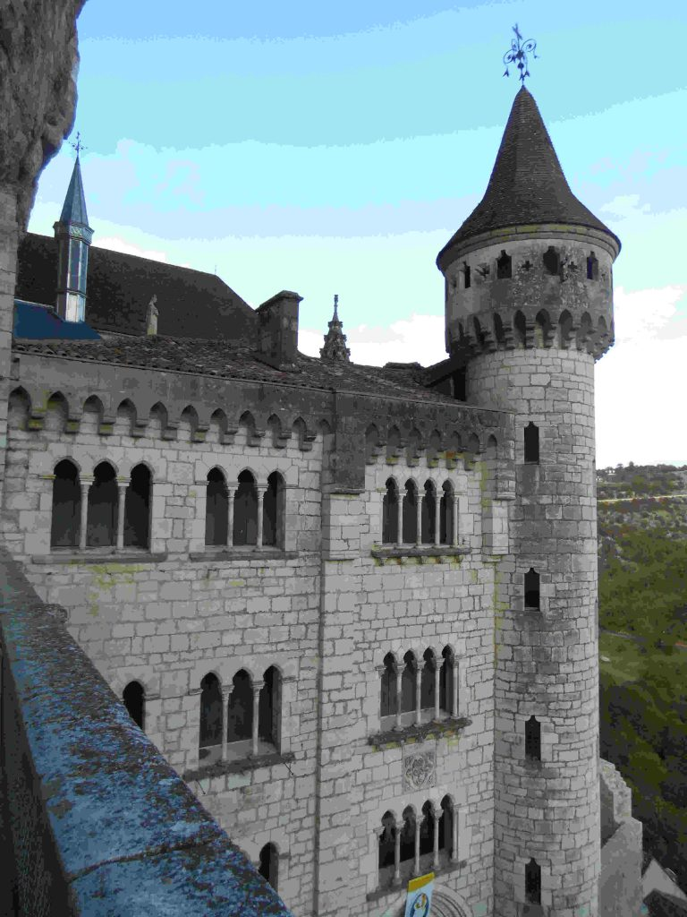 The reward for the the long climb to the top of Rocamadour
