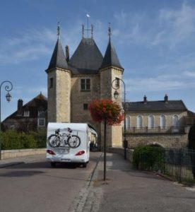 If you avoid the fast roads, there is a huge variety of historic sights to see as you drive through France
