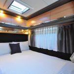 Euro-Explorer Compact Prestige motorhome bedroom