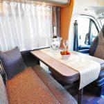 Euro-Explorer Compact Prestige motorhome dinette