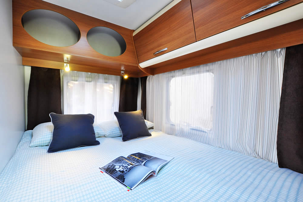 Euro-Explorer Motorhome double bed