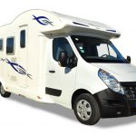 Front view of the Euro-Explorer motorhome