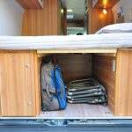 Euro-Traveller Prestige Campervan, view from back