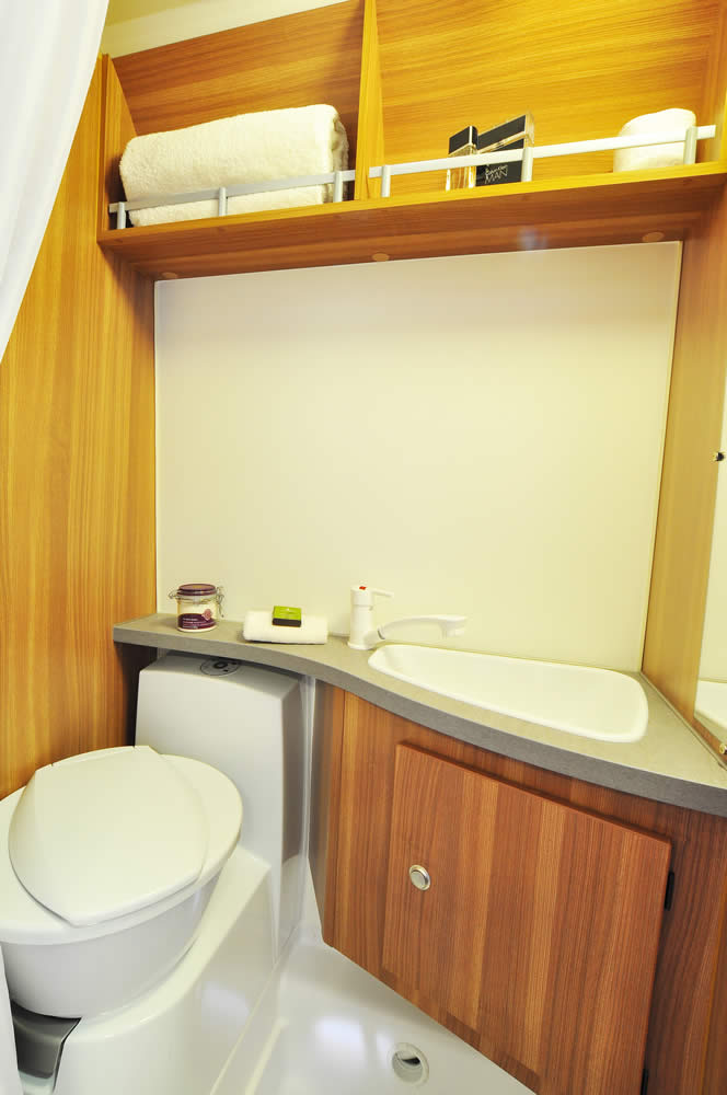 Euro-Traveller Prestige Campervan bathroom