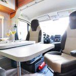 Euro-Traveller Prestige Campervan dinette