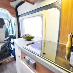 Euro-Traveller Prestige Campervan looking from front to back