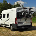 Euro-Traveller campervan rear view