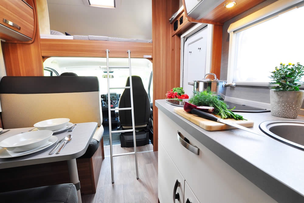 Euro-Voyager Prestige motorhome view from back