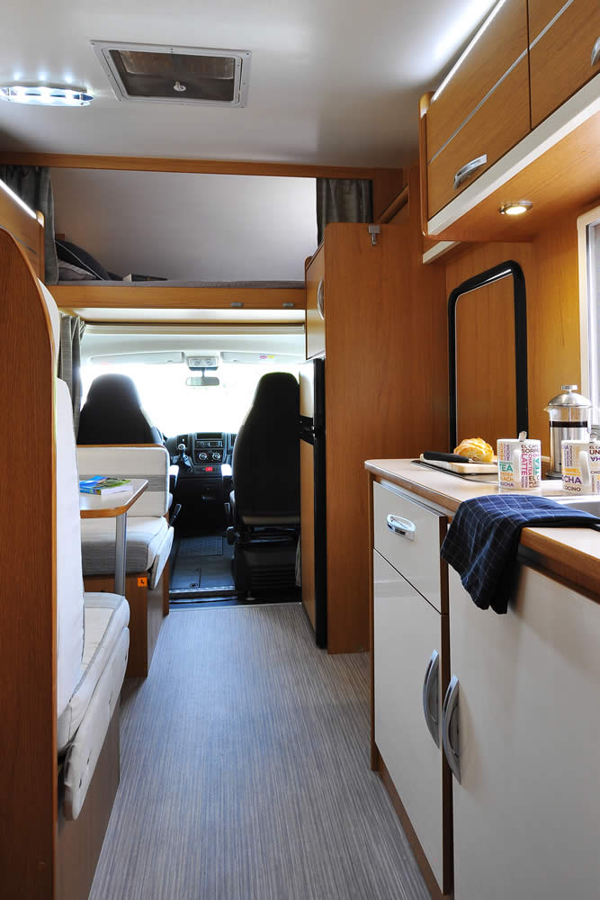 Euro-Voyager motorhome view from back