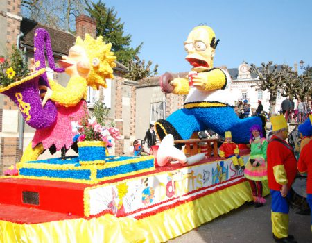Spring… and it's carnival season all over France!