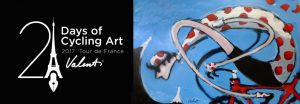 Top cycle artist to follow The Tour de France in a campervan