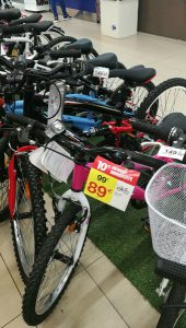 Childrens bikes in our local hypermarket from just €89 sm