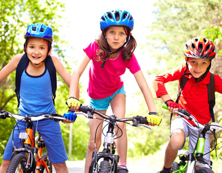 I need bikes for my children in France. Can you help?