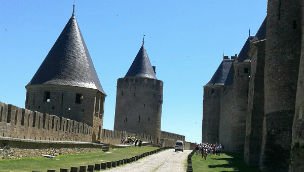 The medieval citadel of Carcassonne