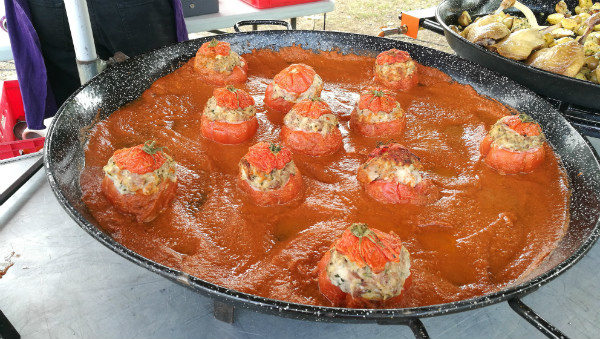 Stuffed tomatoes Lot Valley Market
