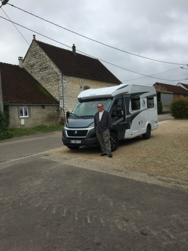 A France Motorhome Hire campervan
