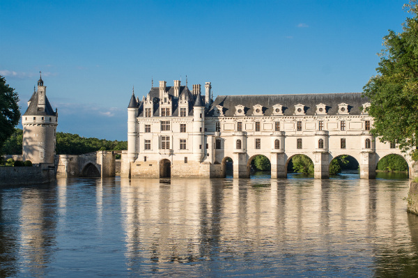 A chateau on the River Loire