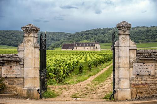 A beautiful chateau in Burgundy, France