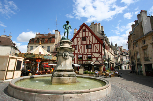Dijon in January