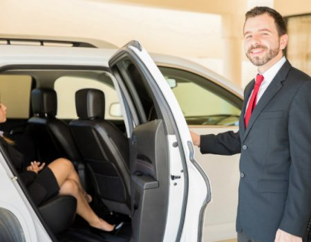 Arrive for your campervan trip in style with a chauffeured transfer