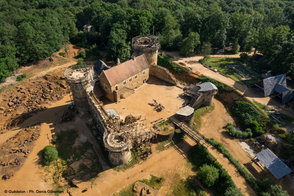 Guédelon castle - one of many local attractions