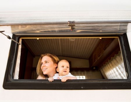 Children under five? Take a motorhome trip before school is out for summer!