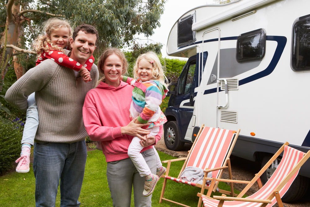 Combine creature comforts with a chance to enjoy the great outdoors on motorhome trip in France with small children