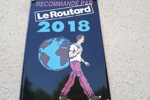 Joigny campsite is now recommended by prestigous travel guide Routard