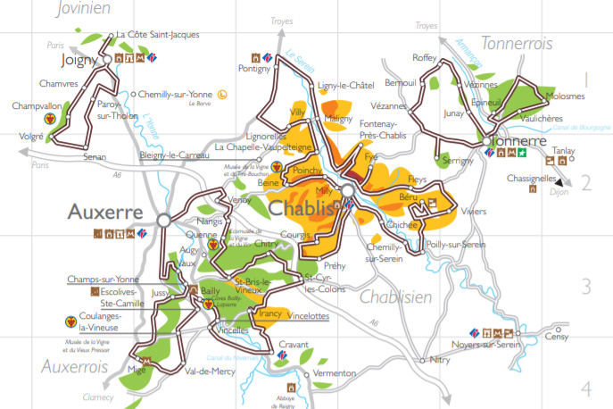 Yonne Wine Tourism Trail