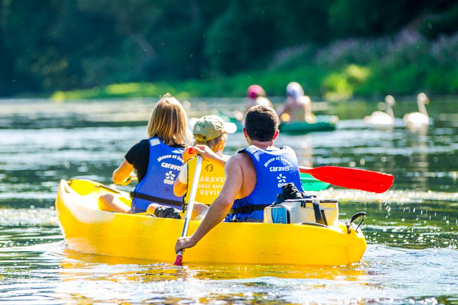 Tournavaux Canoe sur Semois