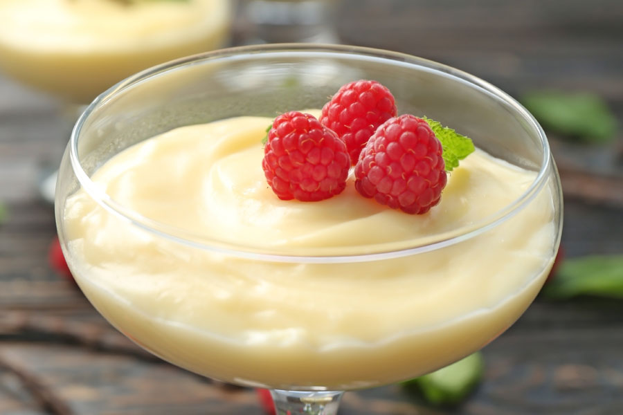 Lemon Cream, an easy recipe in a campervan kitchen from France Motorhome Hire