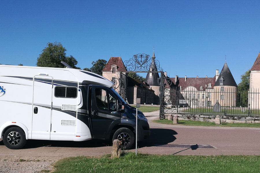 There is something interesting around every corner as you drive through the Cote d'Or region of Burgundy