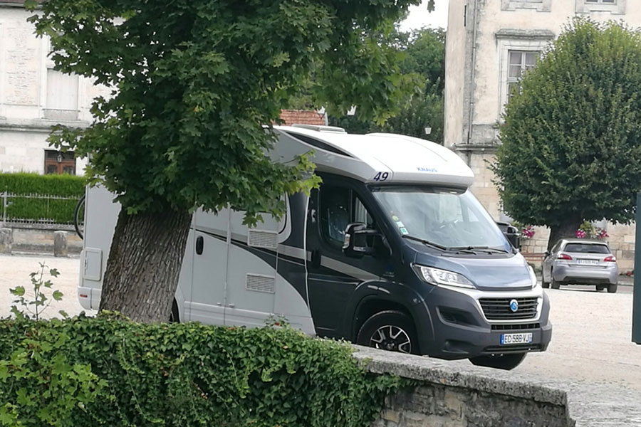 A motorhome is the best way to tour The Champagne Region